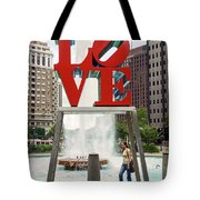 Love Sculpture Tote Bag