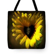 Love Sunflower Tote Bag