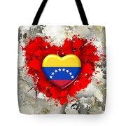 Love Venezuela Tote Bag
