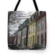 Lovely Ladies In Lafayette Square  Tote Bag