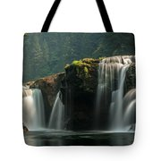 Lower Lewis Falls Tote Bag by Blanca Braun