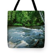 Lower Tahquamenon Falls Tote Bag