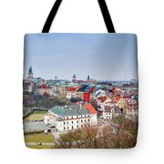 Lublin Old Town Panorama Poland Tote Bag