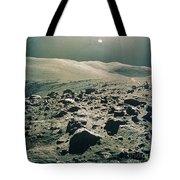 Lunar Rover At Rim Of Camelot Crater Tote Bag