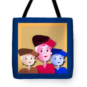 Luncheon With The Girls Tote Bag
