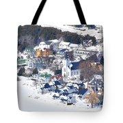 Mackinac Island Winter Tote Bag