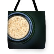 Macro Closeup Wine Bottle Cork Tote Bag