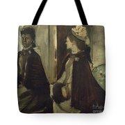 Madame Jeantaud In The Mirror Tote Bag