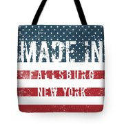 Made In Fallsburg, New York Tote Bag