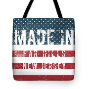Made In Far Hills, New Jersey Tote Bag