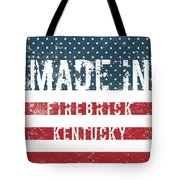 Made In Firebrick, Kentucky Tote Bag