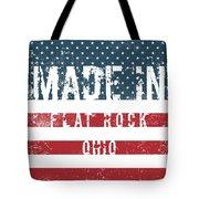Made In Flat Rock, Ohio Tote Bag