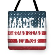 Made In Grand Island, New York Tote Bag