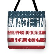 Made In Hillsborough, New Jersey Tote Bag