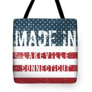 Made In Lakeville, Connecticut Tote Bag