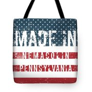 Made In Nemacolin, Pennsylvania Tote Bag