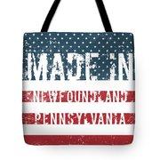 Made In Newfoundland, Pennsylvania Tote Bag