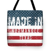 Made In Normangee, Texas Tote Bag