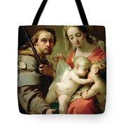 Madonna And Child Tote Bag