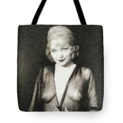 Mae West, Vintage Actress Tote Bag