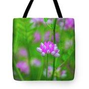 Magenta Wildflower Tote Bag