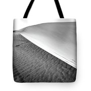 Magnificent Sandy Waves On Dunes At Sunny Day Tote Bag