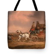 Mail Coaches On The Road Tote Bag