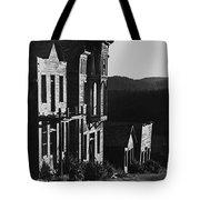 Main Street Ghost Town Elkhorn Montana 1971 Tote Bag
