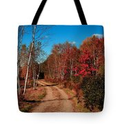 Maine October Tote Bag