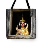 Makala Dancer In Cambodia Tote Bag