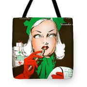 Making A List And Checking It Twice Tote Bag
