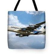 Malaysia Airlines Airbus A380 Tote Bag
