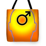 Male Symbol Tote Bag