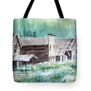 Mammoth Ghost Town Montana Tote Bag