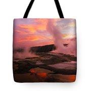 Mammoth Hot Springs Tote Bag
