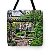 Manhattan Community Garden Tote Bag