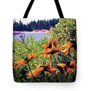 Manitoulin Shores Tote Bag