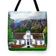 Manor House Tote Bag