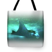 Manta Ray Dream Tote Bag