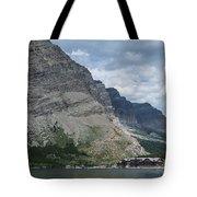 Many Glacier Lodge Tote Bag