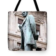 Manzoni Statue Tote Bag