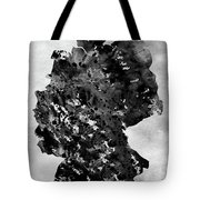 Map Of Germany-black Tote Bag