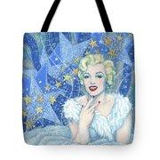 Marilyn Monroe, Old Hollywood Series Tote Bag