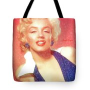 Marilyn Monroe - Pencil Style Tote Bag