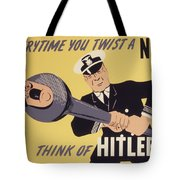Marine Corps Recruiting Poster From World War Tote Bag