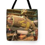 Martin B-26g, Marauder, Shootin In Tote Bag
