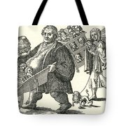Martin Luther (1483-1546) Tote Bag