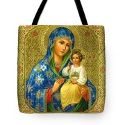Mary Saint Religious Art Tote Bag