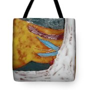 Masks - Tile Tote Bag