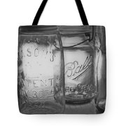 Mason Jar 1858  Tote Bag